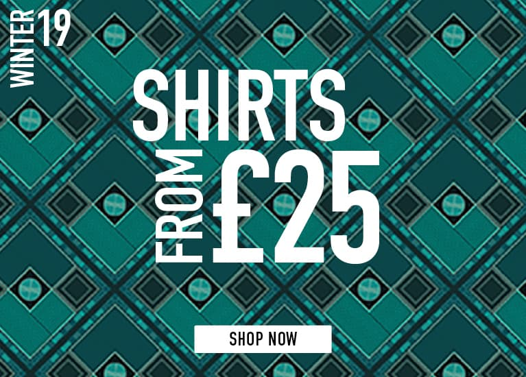 Shirts from £25