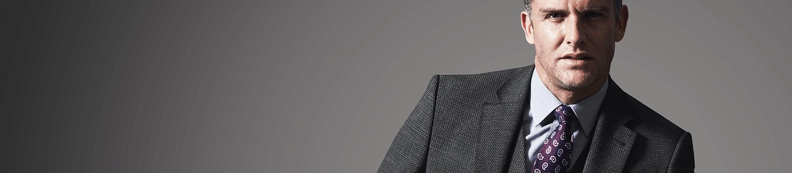 Men's Textured Suits