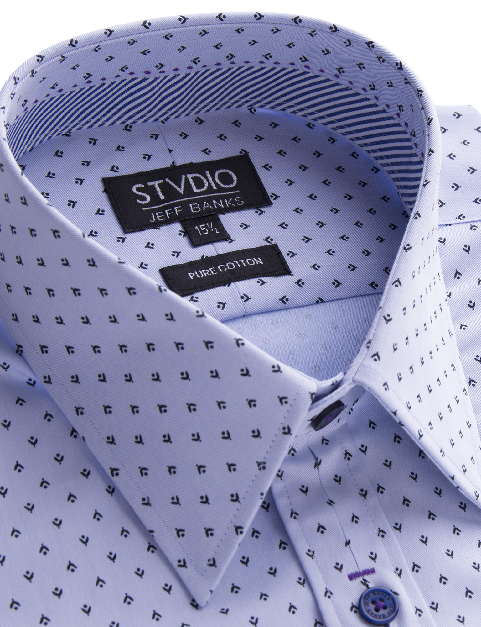 Stvdio by Jeff Banks Stvdio by Jeff Banks Light Blue Ditsy